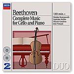Mstislav Rostropovich Beethoven: Complete Music For Cello And Piano (2 Cds)