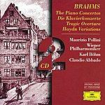 Maurizio Pollini Brahms: The Piano Concertos; Tragic Overture; Haydn Variations (2 Cd's)