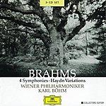 Wiener Philharmoniker Brahms: 4 Symphonies; Haydn Variations (3 Cd's)
