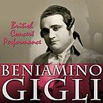 Beniamino Gigli British Concert Performance