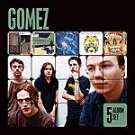 Gomez 5 Album Set (Bring It On/Liquid Skin/In Our Gun/Split The Difference/Five Men In A Hut)