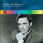 Mario Del Monaco Mario Del Monaco: Decca Recitals 1952-1969 (5 Cds)