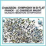 Charles Munch Chausson Symphony & Franck Le Chasseur Maudit