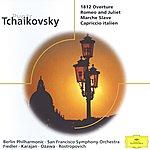 """Arthur Fiedler Tchaikovsky: Overture """"1812""""; Romeo And Julia; Marche Slave Op.31; Capriccio Italien Op.45"""