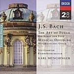 Stuttgarter Kammerorchester Bach, J.S.: The Art Of Fugue; A Musical Offering (2 Cds)
