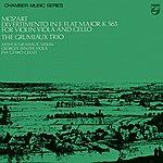Grumiaux Trio Mozart: Divertimento In E Flat Major, K.563