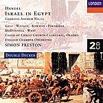 Elizabeth Gale Handel: Israel In Egypt Etc. (2 Cds)