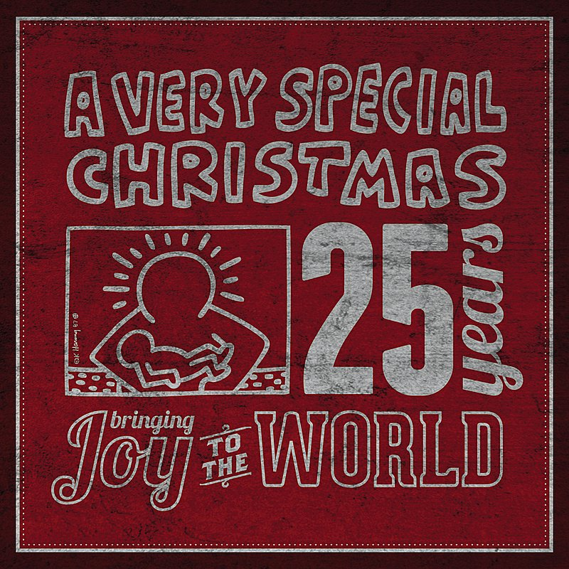 Cover Art: A Very Special Christmas 25th Anniversary