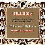 Otto Klemperer Brahms Symphony No. 3