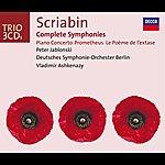 Peter Jablonski Scriabin: Complete Symphonies / Piano Concerto, Etc. (3 Cds)