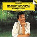 Maria João Pires Mozart: Piano Sonatas K.309, K.332 & K.570