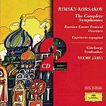 Gothenburg Symphony Orchestra Rimsky-Korsakov: The Complete Symph: Onies; Russian Easter; Capriccio Es