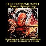 Boston Symphony Orchestra Mendelssohn And Prokofiev Violin Concertos