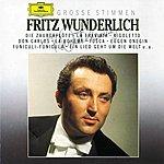 Fritz Wunderlich Grosse Stimmen - Fritz Wunderlich