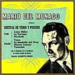 Mario Del Monaco G. Puccini & G. Verdi: Recital De Puccini Y Verdi