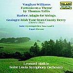 Leonard Slatkin Vaughan Williams: Tallis Fantasia & Barber: Adagio