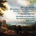 Christoph Von Dohnanyi Mendelssohn: Symphony No. 3 & Die Erste Walpurgisnacht