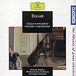 """Mischa Maisky Elgar: Cello Concerto In E Minor Op.85; Variations On An Original Theme (""""Enigma"""") Op.36; Serenade For String Orchestra In E Minor Op.20"""