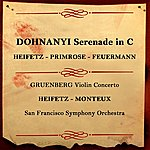 San Francisco Symphony Orchestra Dohnanyi Serenade In C