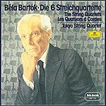 Tokyo String Quartet Bartók: The String Quartets (3 Cds)