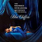 George Shearing Blue Chiffon