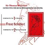 Royal Philharmonic Schubert Symphony No. 1 & 2