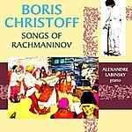 Boris Christoff Songs Of Rachmaninov