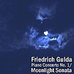 Friedrich Gulda Piano Concerto No 1/ Moonlight Sonata