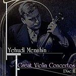 Yehudi Menuhin Great Violin Concertos (Disc II)