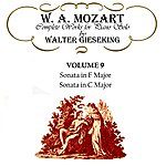 Walter Gieseking Complete Works For Piano Solo Volume 9
