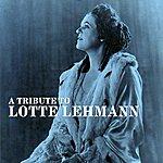 Lotte Lehmann A Tribute To Lotte Lehmann