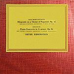 Artur Rubinstein Sergei Rachmaninov Paganini Rhapsody / Edvard Grieg Piano Concerto