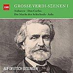 Gottlob Frick Verdi Auf Deutsch: Große Szenen Aus Nabucco, Aida, Die Macht Des Schicksals