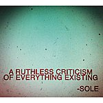 Sole A Ruthless Criticism Of Everything Existing