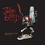 John Gray Black Pants, Black Shirt, Grappler Gun