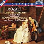 Gervase de Peyer Mozart: Clarinet Concerto / Sinfonia Concertante