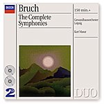 Salvatore Accardo Bruch: The 3 Symphonies/Works For Violin & Orchestra (2 Cds)