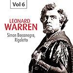Leonard Warren Leonard Warren, Vol. 6 (1939-1950)