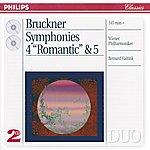 Wiener Philharmoniker Bruckner: Symphonies Nos.4 & 5 (2 Cds)