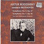 New York Philharmonic Artur Rodzinsky Conducts Beethoven