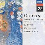 Vladimir Ashkenazy Chopin: Piano Sonatas Nos. 1 - 3; 24 Etudes; Fantaisie In F Minor (2 Cds)