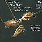 Mitch Miller Paganini And Wieniawski: Violin Concertos