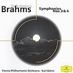 Wiener Philharmoniker Johannes Brahms: Symphony Nos. 3 & 4