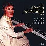 Marian McPartland Live At Yoshi's Nitespot