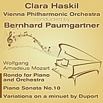 Clara Haskil Wolfgang Amadeus Mozart - Rondo For Piano And Orchestra, Piano Sonata No.10, Variations On A Minuet By Duport
