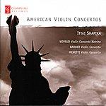 Ittai Shapira American Violin Concertos