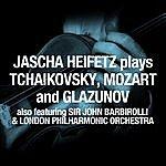 Jascha Heifetz Jascha Heifetz Plays Tchaikovsky, Mozart And Glazunov
