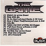 The Game The Game Mix Cd Vol. 1