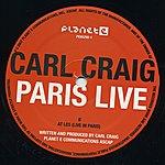 Carl Craig Paris Live