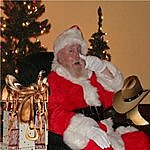 Phil Coley Santa You're Just And Old Texas Cowboy